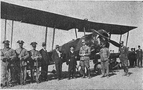 Avión Avro accidentado en noviembre de 1924 en Sonseca que ocasionó varias muertes. Diario El Castellano