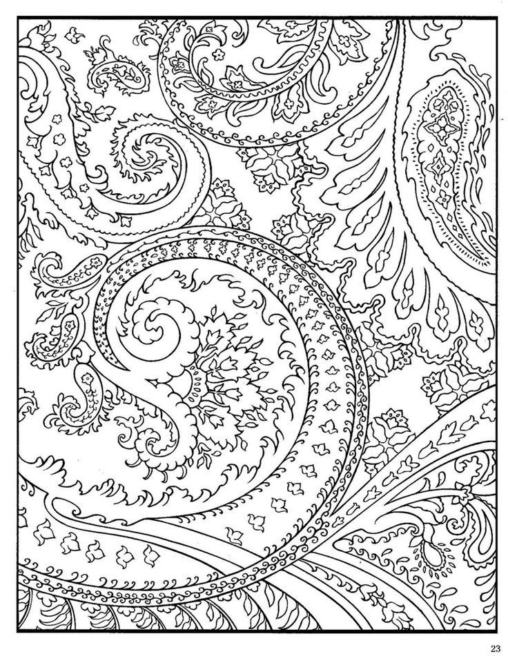 Free Printable | Coloring Pages For Adults Abstract, Download Free ... | 951x736
