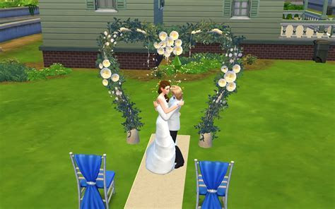 My Sims 4 Blog: All Sims 3 Wedding Arch's Set by g1g2