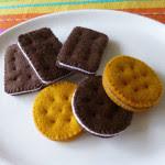 Biscotti in feltro Tutorial