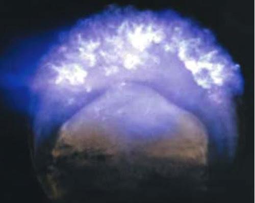 Explosión atómica aérea