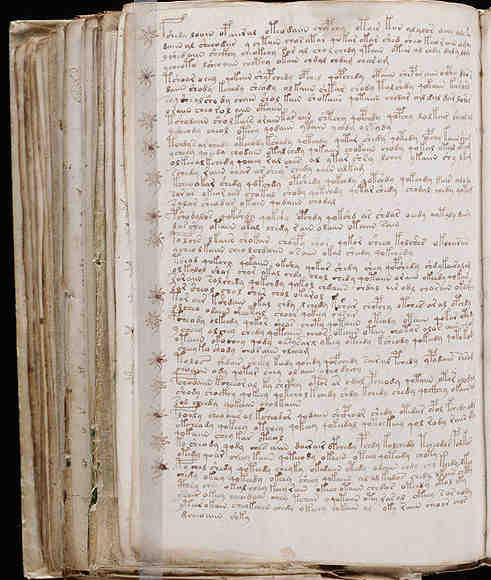 Distintos folios de la sección Recetas