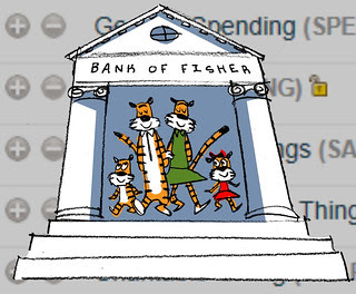 The Bank of Fisher on FamZoo