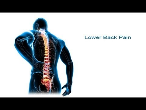 how to sit and sleep with lower back pain