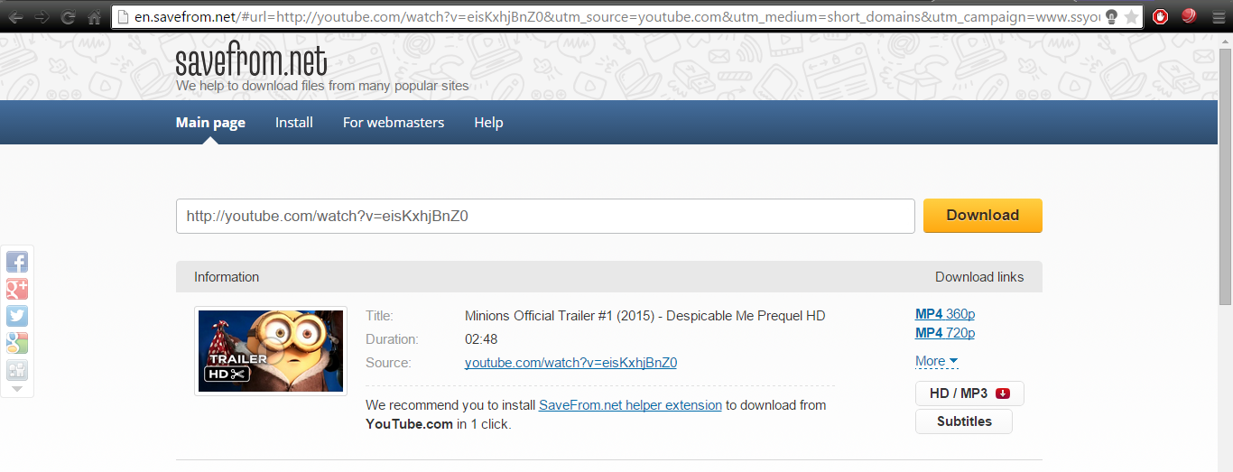 downloadvideos-youTube