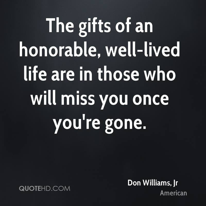Don Williams Jr Life Quotes Quotehd