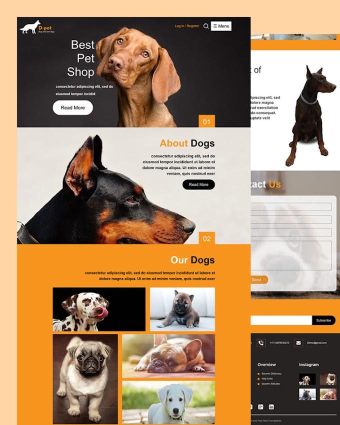 DPot – Pet Shop Html Template