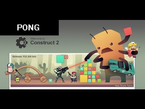 Construct 2 PONG