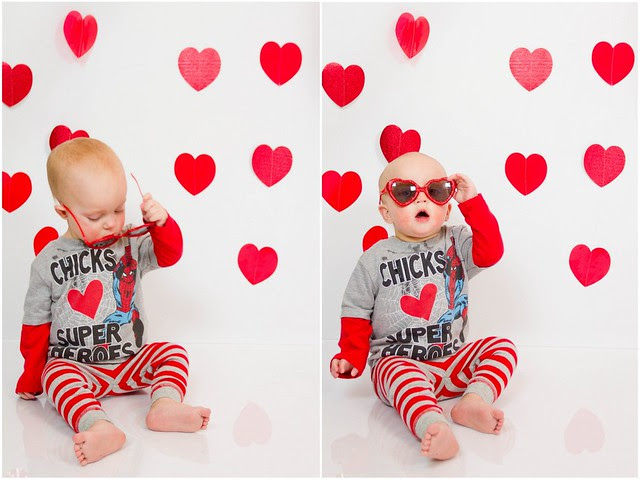 How To Take Valentines Day Photos Of Your Kids
