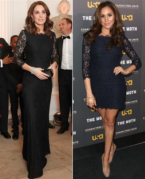 Kate Middleton and Meghan Markle Have the Same Lace Dress