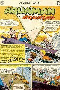 Adventure #279 Aquaman Splash Page