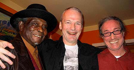 "- David ""HoneyBoy"" Edwards, Michael Dean Pollock and Michael Frank of Earwig Music -  Click Here to Learn More About David ""Honeyboy"" Edwards!"