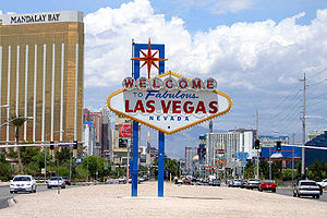 Welcome to Fabulous Las Vegas sign, picture ta...