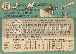 #563 Julio Navarro (back)