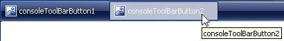 Default ConsoleToolBarButton