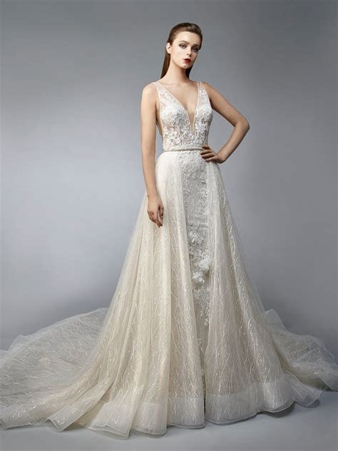 Nurit   Enzoani   Bridalwear   Wedding Dresses, Bridesmaid