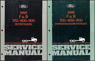 1995 Ford f800 wiring diagram