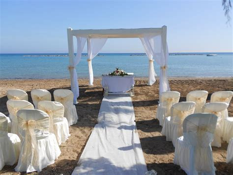 Beach Weddings in Paphos Cyprus and beach wedding ideas