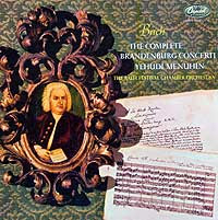 Yehudi Menuhin conducts the Bath Festival Orchestra (Capitol LP cover)