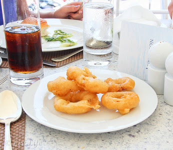 Onion rings, Seabourn