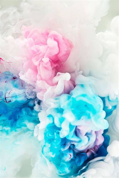 aesthetic colored abstract ink explosions wallpaper