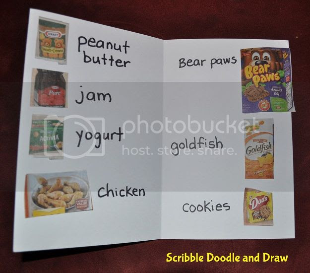 Make a menu for your pretend restaurant