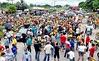 Protesto de taxistas e mototaxistas em Capanema