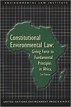 Principles Of Constitutional Environmental Law