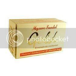 Mysore Sandal Gold Soap