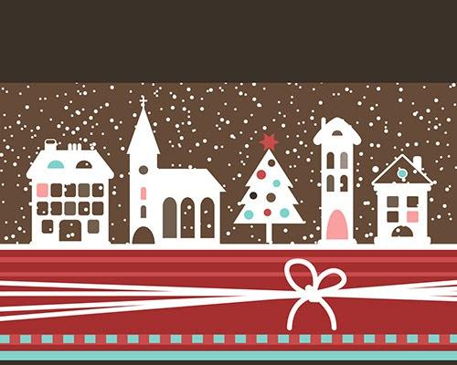 クリスマスの無料イラスト おしゃれでイケてる素材大集合 年賀状