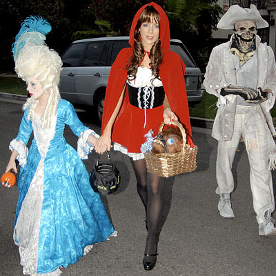 Kate Beckinsale as Little Red Riding Hood - Stars in Halloween Costumes