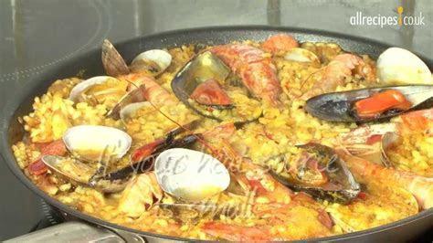 Paella recipe   How to make paella   Seafood paella   YouTube