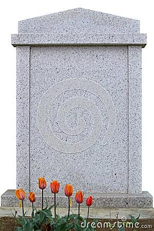 Blank Gravestone Royalty Free Stock Photography - Image: 22569067