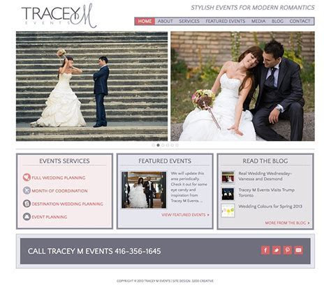 WordPress Wedding Industry Website Design