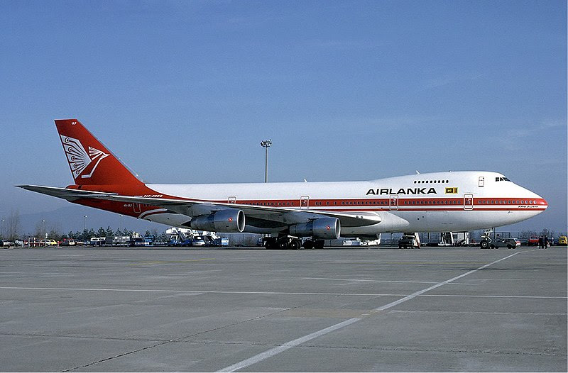 File:Air Lanka Boeing 747-200 at Basle Airport - December 1984.jpg