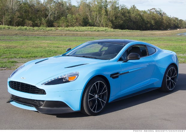 Aston Martin Vanquish Blue Specs And Review