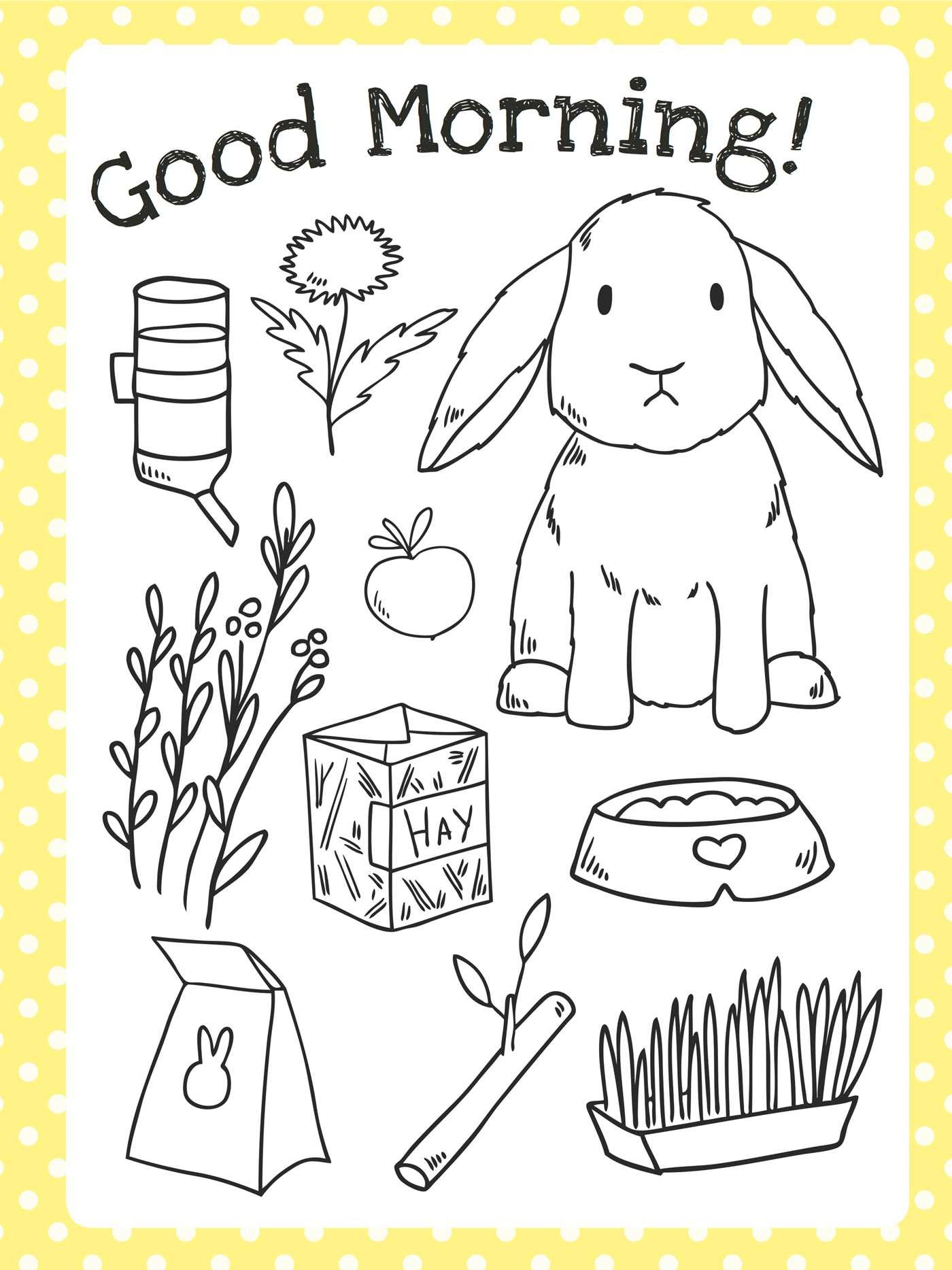 The Too Cute Coloring Book: Bunnies | Book by Little Bee ...