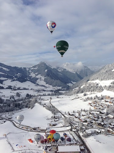 Balloons and the Alps