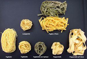 Pasta all'uovo (egg pasta)