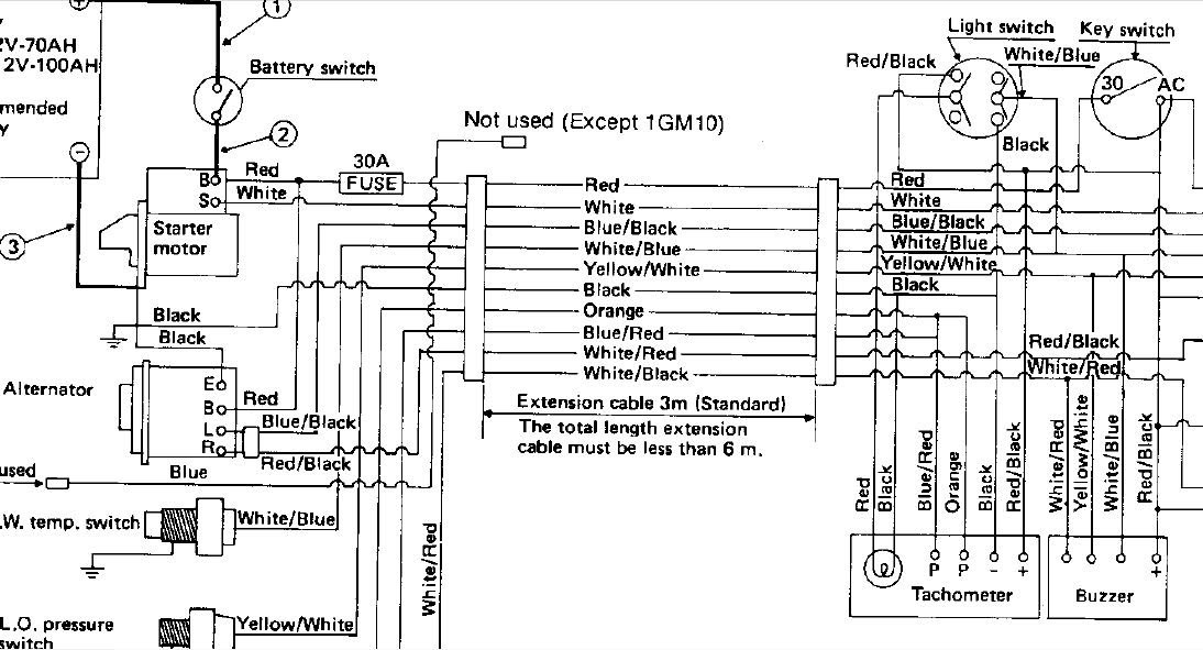 boat tachometer wiring diagram free picture schematic image 3