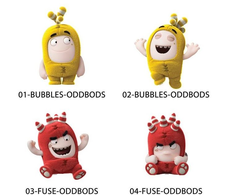 Drawings Of Oddbods - FUSE, Oddbods, Coloring Book #58 ...