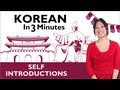 How To Introduce Yourself In Korean Informal