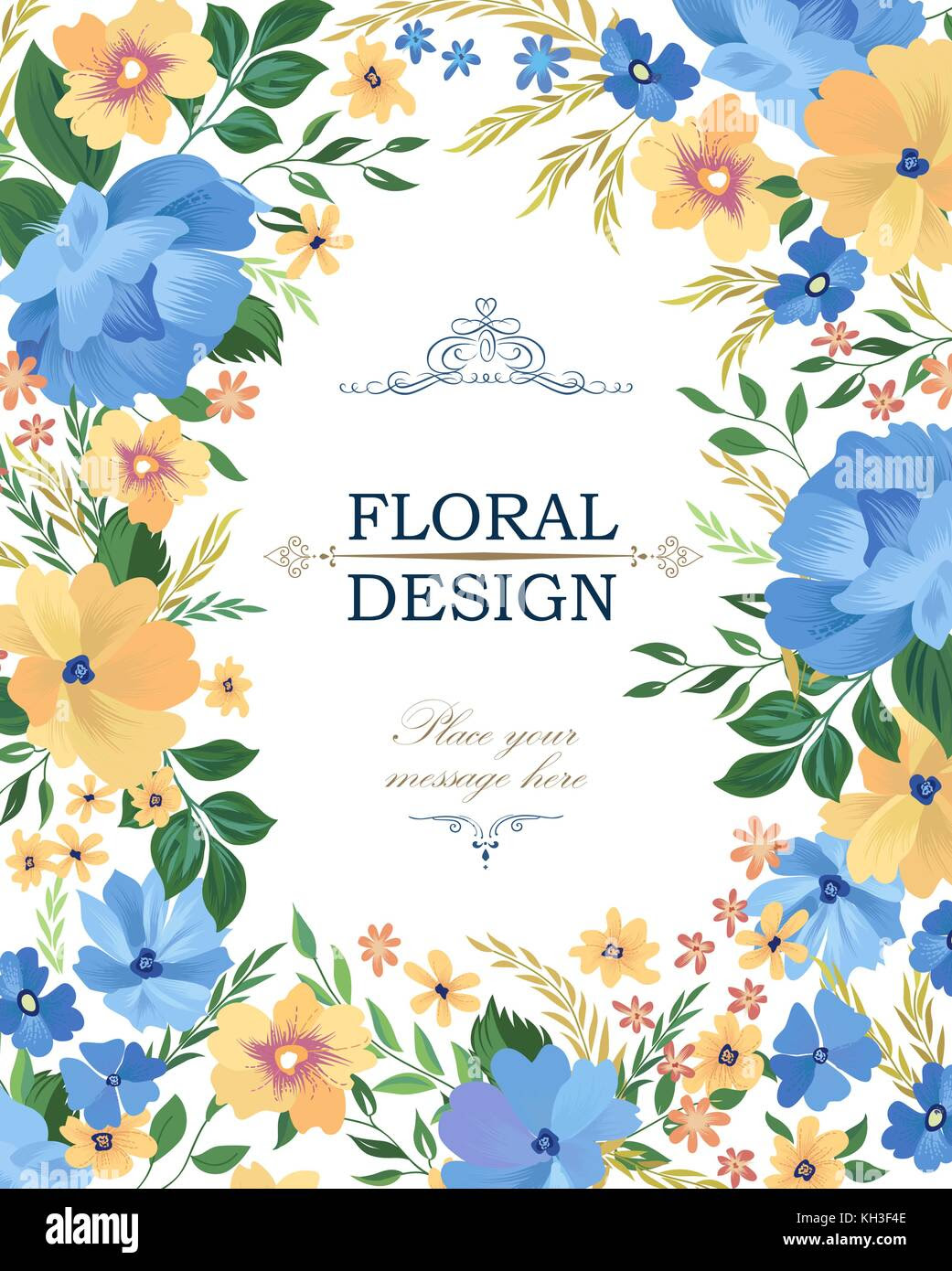 Flower Border Designs For Cards Wmsibinfo