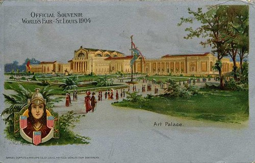 1904 Art Palace official post card