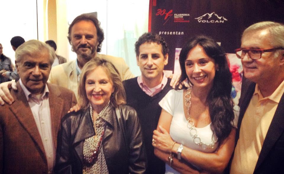 El Jurado: Ernesto Palacio, Ariel Cazés, Martha Mifflin, Juan Diego Flórez, Maria Cecilia Toledo y Jean-Louis Pichon