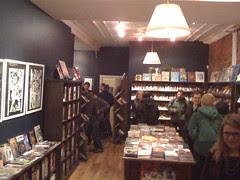 Friday at Bergen St Comics