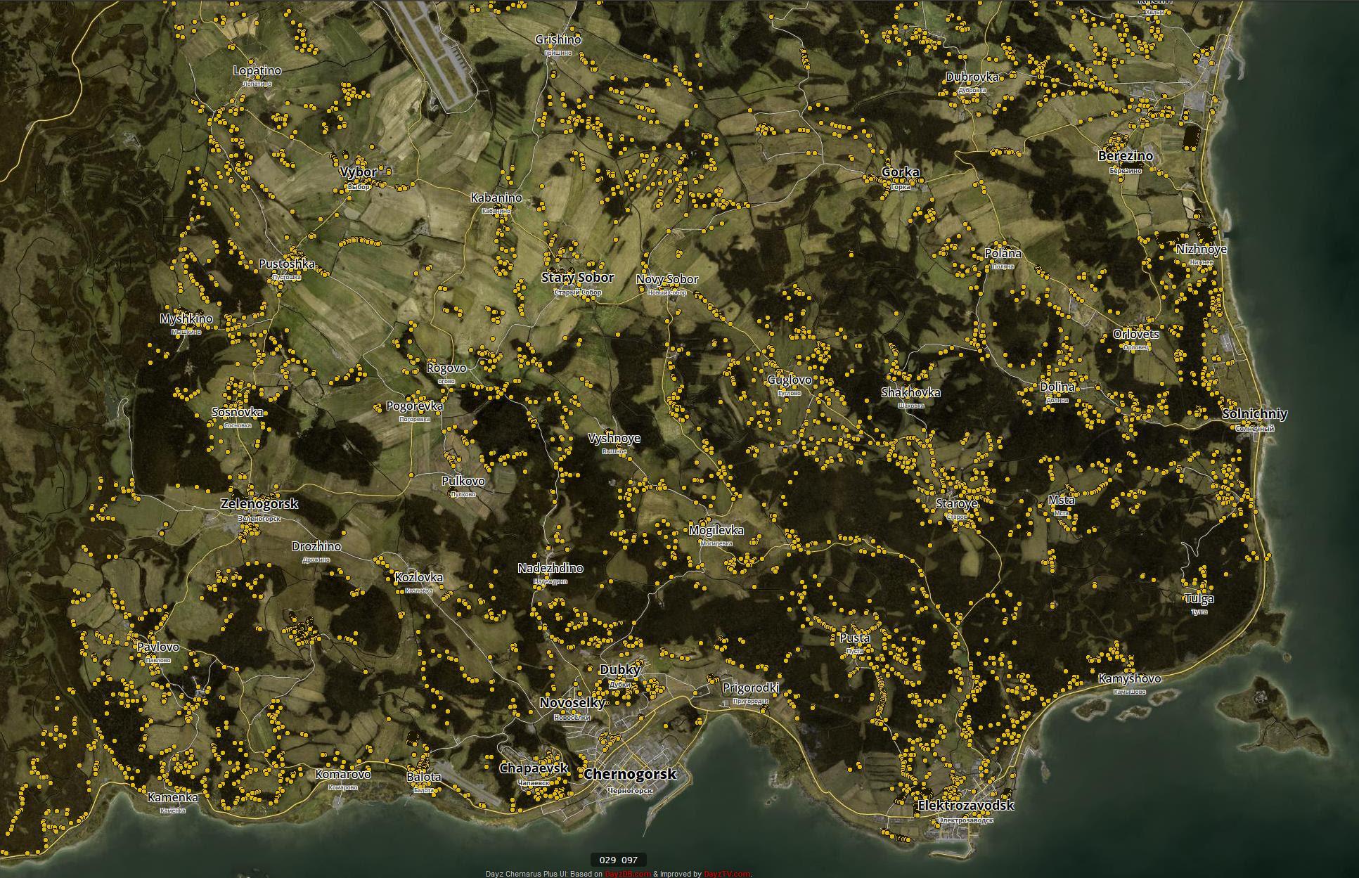 Dayz Karte | Karte