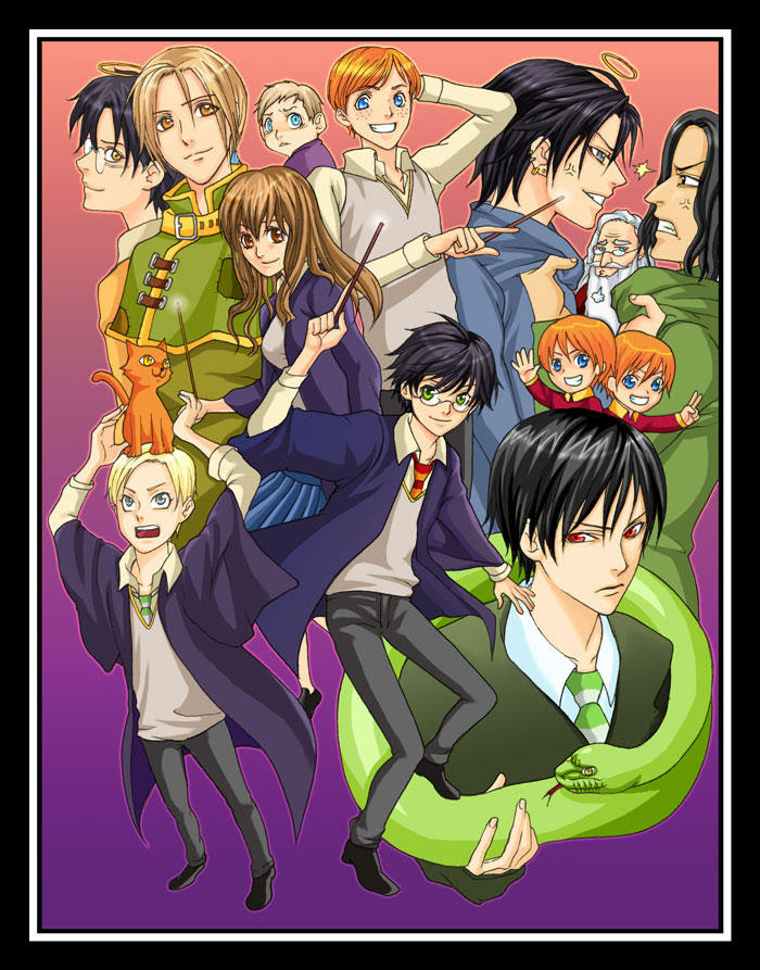 Fem Harry Potter Anime Crossover Fanfiction