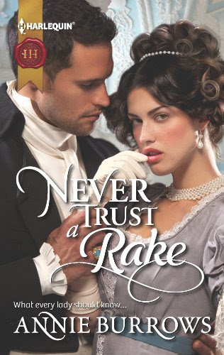 Never Trust a Rake (Harlequin Historical) by Annie Burrows