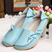 Model i ri i kepuceve te rrafeshta nga lekura per femra